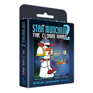 Star Munchkin 2 — The Clown Wars cover
