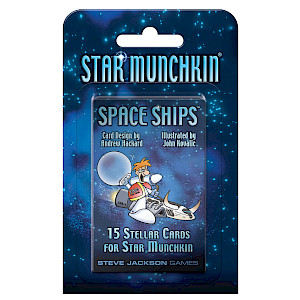Star Munchkin: Space Ships cover