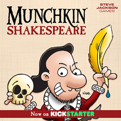 Munchkin Shakespeare Is Live (And Funded)! cover