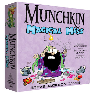 Munchkin Magical Mess cover