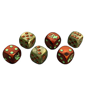 Munchkin Steampunk Science! Dice cover