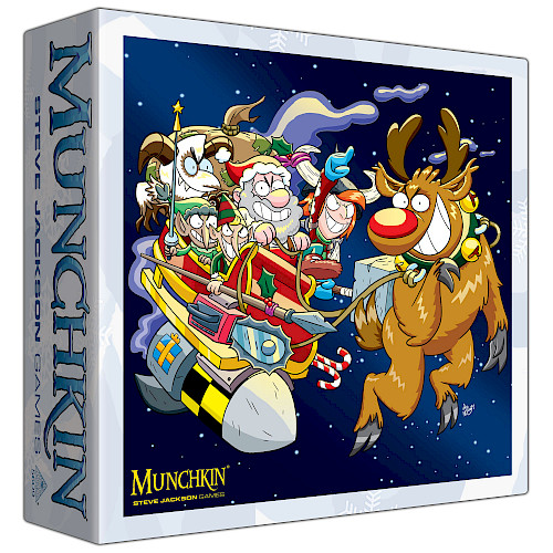 Munchkin Christmas Monster Box cover