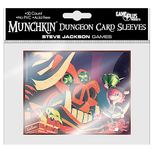 Munchkin Dungeon Card Sleeves cover