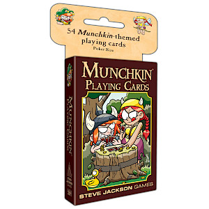 Munchkin Playing Cards cover