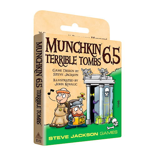 Munchkin 6.5 — Terrible Tombs cover