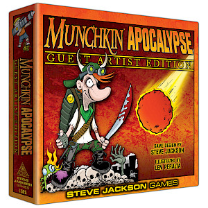 Munchkin Apocalypse Guest Artist Edition cover