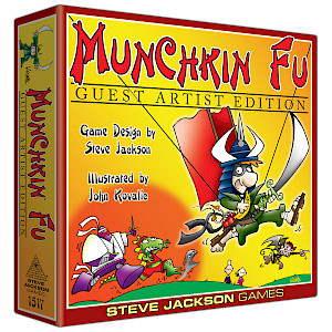Munchkin Fu Guest Artist Edition cover