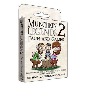 Munchkin Legends 2 — Faun and Games cover