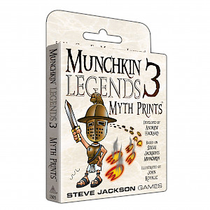 Munchkin Legends 3 — Myth Prints cover