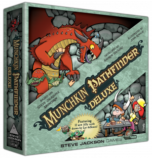 Munchkin Pathfinder Deluxe cover