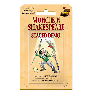 Munchkin Shakespeare Staged Demo cover