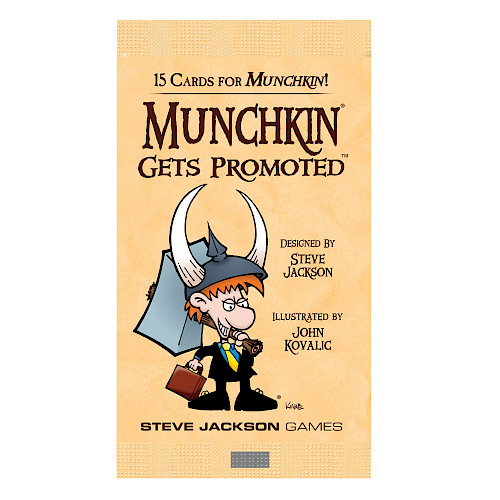 Munchkin Gets Promoted cover