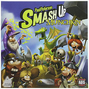 Munchkin Smash Up cover