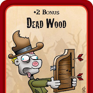 Dead Wood Munchkin Zombies Promo Card cover