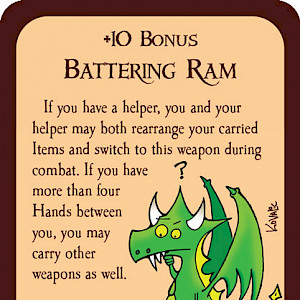 Battering Ram Munchkin Promo Card cover