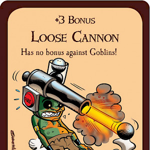 Loose Cannon Munchkin Promo Card cover