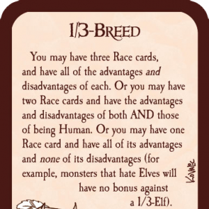 1/3-Breed Munchkin Promo Card cover