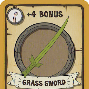 Grass Sword Munchkin Adventure Time™ Promo Card cover