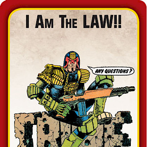 I Am The LAW!! Munchkin Apocalypse Promo Card cover