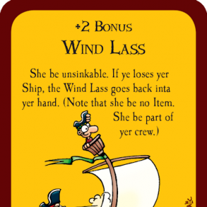 Wind Lass Munchkin Booty Promo Card cover