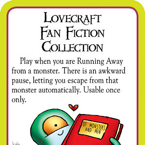 Lovercraft Fan Fiction Collection Munchkin Cthulhu Promo Card cover