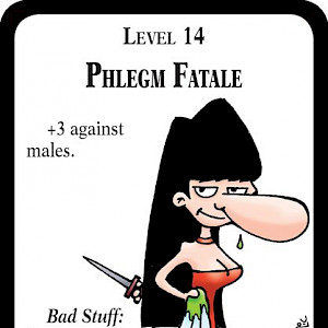 Phlegm Fatale Munchkin Impossible Promo Card cover