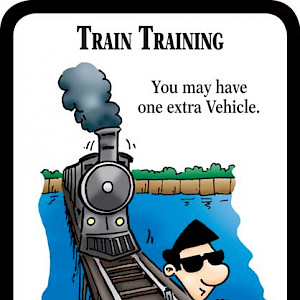 Train Training Munchkin Impossible Promo Card cover