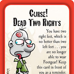 Curse! Dead Two Rights Munchkin Zombies Promo Card cover