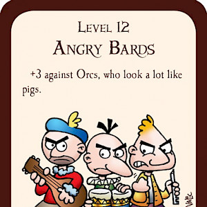 Angry Bards Munchkin Promo Card cover