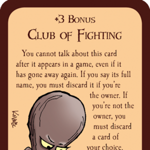 Club of Fighting Munchkin Promo Card cover