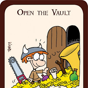 Open the Vault Munchkin Promo Card cover