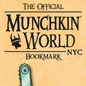 The Official Munchkin World NYC Bookmark cover