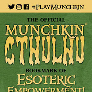 The Official Munchkin Cthulhu Bookmark of Esoteric Empowerment! cover