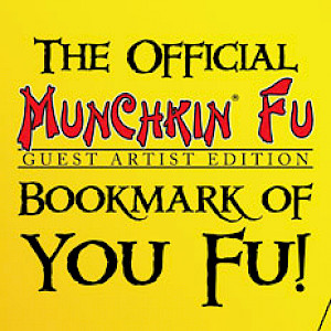 The Official Munchkin Fu Guest Artist Edition Bookmark of You Fu! cover