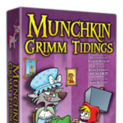 Announcing Munchkin Grimm Tidings cover
