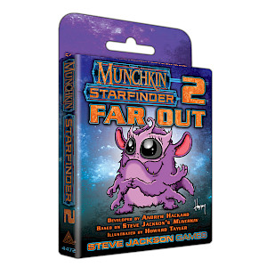 Munchkin Starfinder 2 - Far Out cover