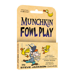 Munchkin Fowl Play cover