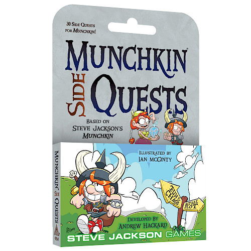 Munchkin Side Quests cover