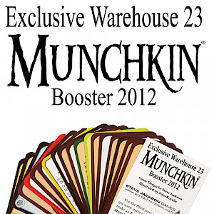 Exclusive Warehouse 23 Munchkin Booster 2012 cover