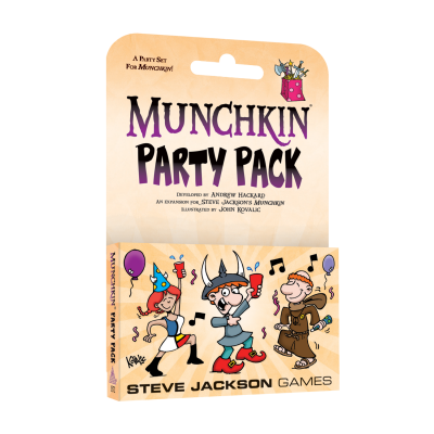 Designer's Notes: Munchkin Party Pack cover