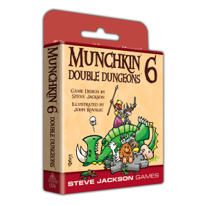 Munchkin 6 – Double Dungeons cover
