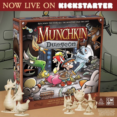 Munchkin Dungeon Closes Today! cover