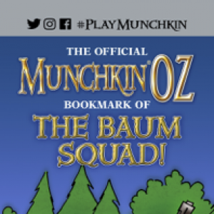 The Official Munchkin Oz Bookmark of the Baum Squad! cover