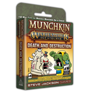 Munchkin Warhammer Age of Sigmar: Death and Destruction cover