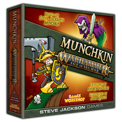 Munchkin Warhammer Age of Sigmar Design Diary: Character Development cover