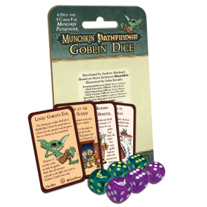 Munchkin Pathfinder Goblin Dice cover
