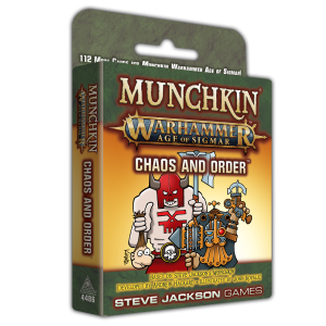 Munchkin Warhammer Age of Sigmar: Chaos and Order cover