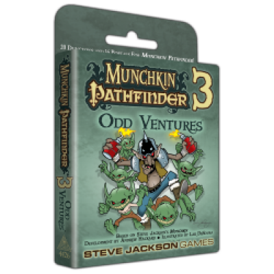 Munchkin Pathfinder 3 Preorders cover