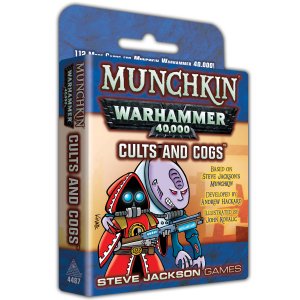 Munchkin Warhammer 40,000: Cults and Cogs cover