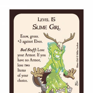 Slime Girl Munchkin Legends Guest Artist Edition Promo Card cover